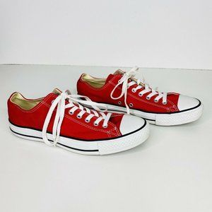 Converse All Star Red Shoes Low Top